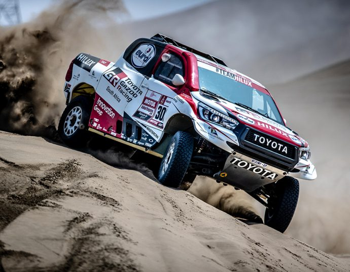 SKF patrocinio Toyota Gazoo Racing en Rally Dakar 2020