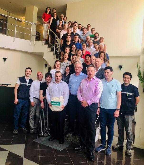 socios Urvi visita instalaciones Lucas Elektrik