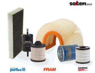 La gama de filtros Sogefi cubre al completo la segunda generación del Peugeot 508