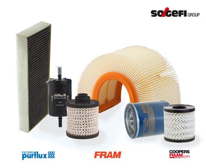 Sogefi gama filtros completa para Peugeot 508