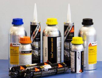 Amplia gama de productos químicos Sika para el vehículo industrial