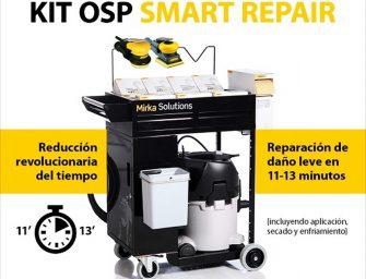 Mirka sorteará un Kit OSP entre los visitantes a su stand de Motortec