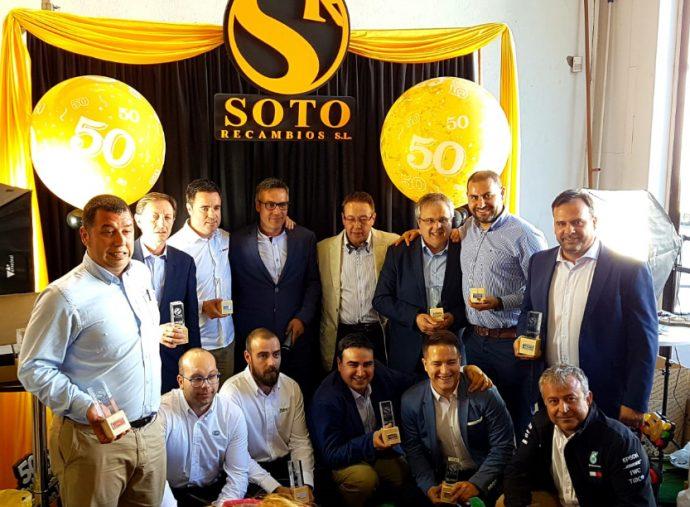 Soto Recambios 50 aniversario