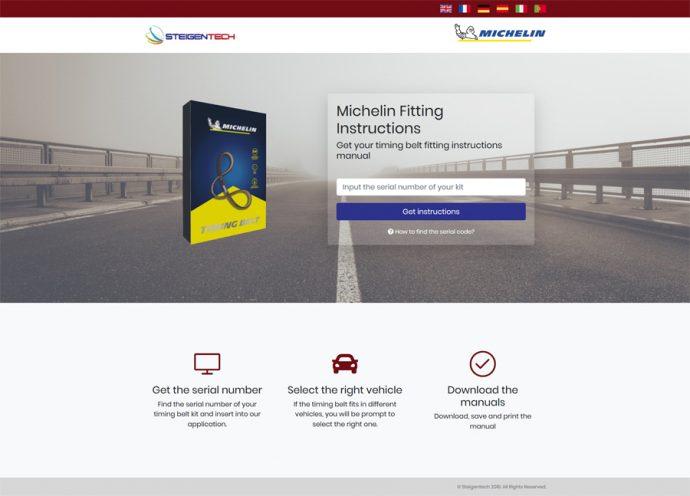 Steigentech instrucciones correas de distribución Michelin