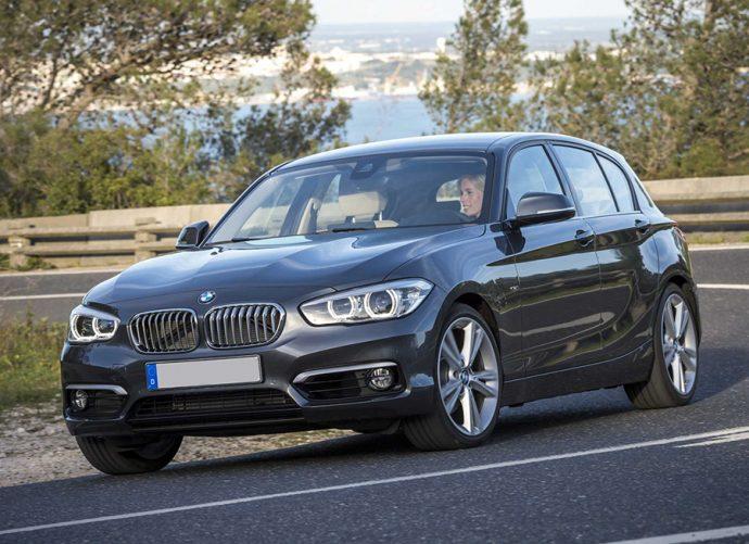 sustitución de pastillas delanteras en BMW Serie 1 Fase II
