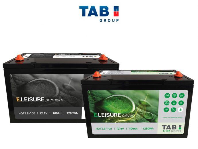 TAB Batteries nueva línea de baterías monobloque TAB E.LEISURE
