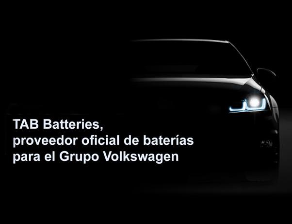 TAB Batteries nuevo proveedor de primer equipo Grupo Volkswagen