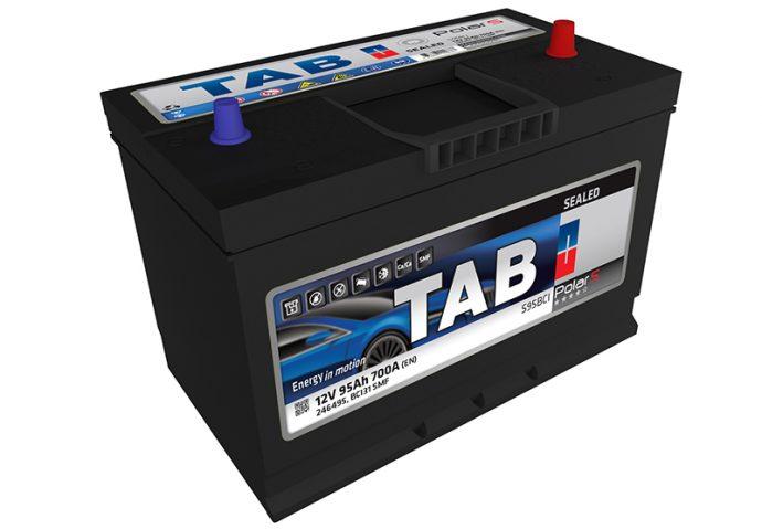 baterías con Borne Centrado TAB Spain