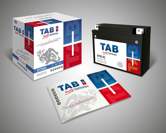 TAB Spain baterías para motos nuevo catálogo