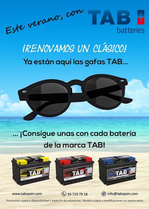 TAB Spain campaña verano 2017