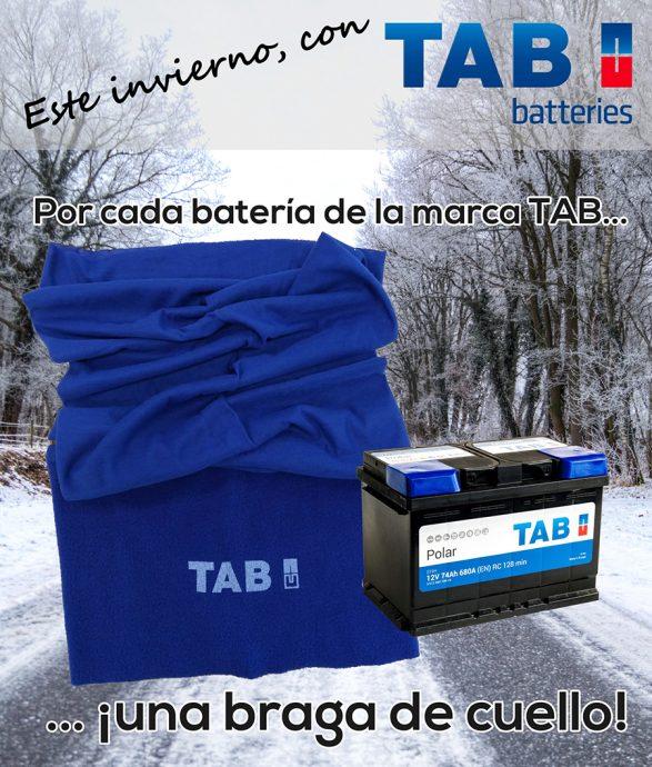 TAB Spain braga de cuello campaña invierno 2018