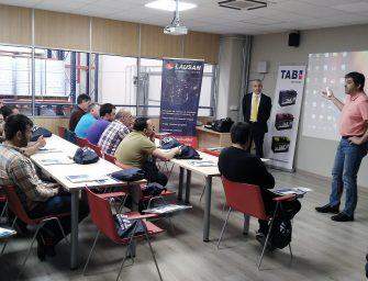 TAB Spain, en el ecuador de su plan de formación