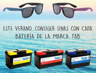 TAB Spain obsequia con gafas de sol en su tradicional campaña de verano