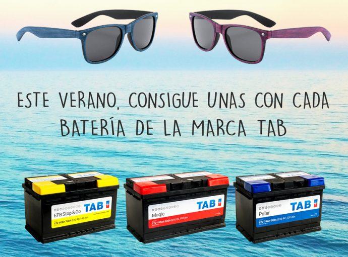 TAB Spain gafas de sol campaña de verano