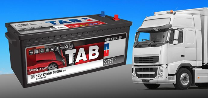 baterías para camión TAB