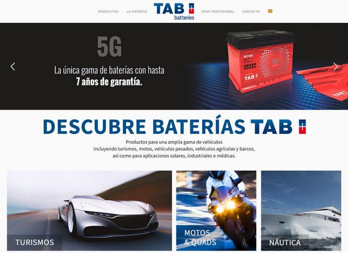 TAB Spain presenta nueva página web