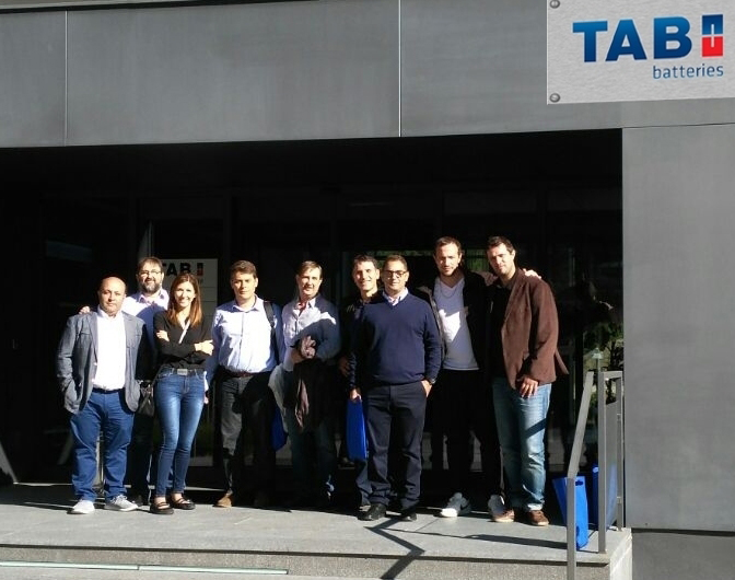 visita TAB Batteries Eslovenia