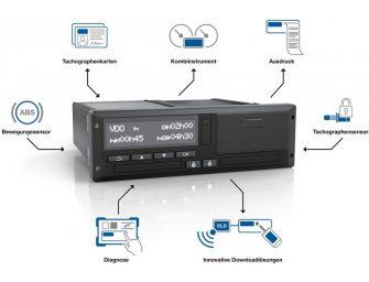 VDO ha presentado su nuevo tacógrafo digital inteligente DTCO 4.0