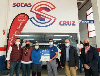 Taller Socas Cruz (Five Star) logra el Certificado de Centro Zaragoza