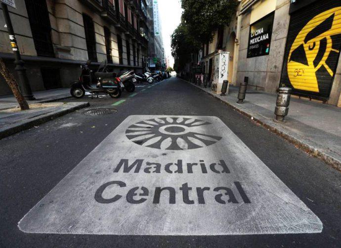 talleres en Madrid Central seguirán recibiendo vehículos A en 2021