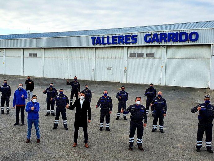 Talleres Garrido medalla de plata en Iveco Service Challenge 2020