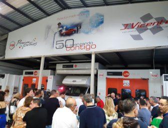 Talleres JVicente celebra su 50 aniversario junto a R-M