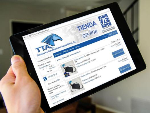 Técnicas en Transmisiones Automáticas TTA SL renueva y mejora las prestaciones de su tienda online