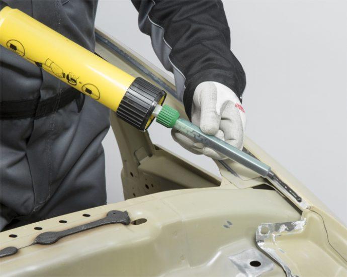TEROSON EP 5055 reparación de techo