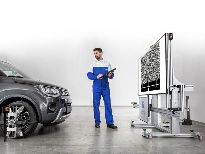 TEXA nueva estructura RCCS3 para calibración de sistemas avanzados de asistencia al conductor ADAS
