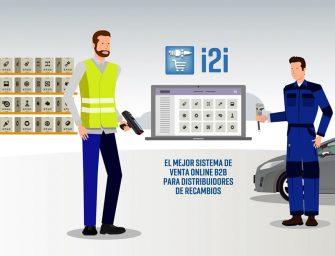 Isi Condal presenta en vídeo su programa de tienda online i2i para recambistas