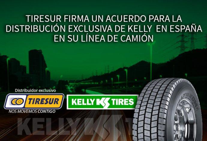 Tiresur distribucion exclusiva neumáticos Kelly para camión
