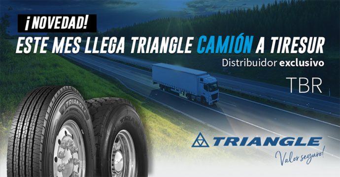 Tiresur nuevo distribuidor neumáticos Triangle para camión