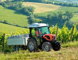 Nueva gama de tractores de tamaño reducido SAME Delfino