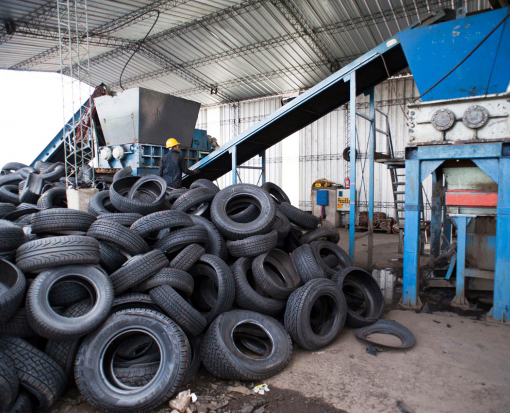 tratamiento sostenible del neumático fuera de uso