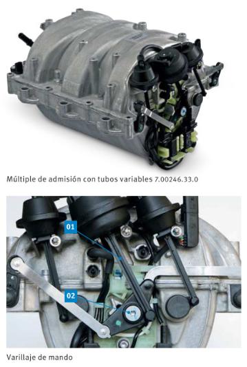 tubería de aspiración Mercedes-Benz M272