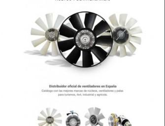 Turbo3 distribuye las mejores marcas de ventiladores