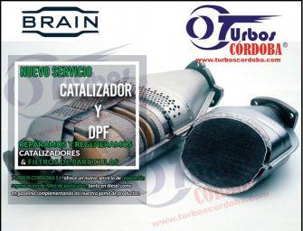 Turbos Córdoba se alía con Catalizadores Brain para ampliar su cartera de servicios
