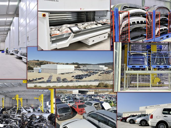 Unió de Empresaris d'Automoció de Catalunya UEAC convenio con Desguaces La Cabaña