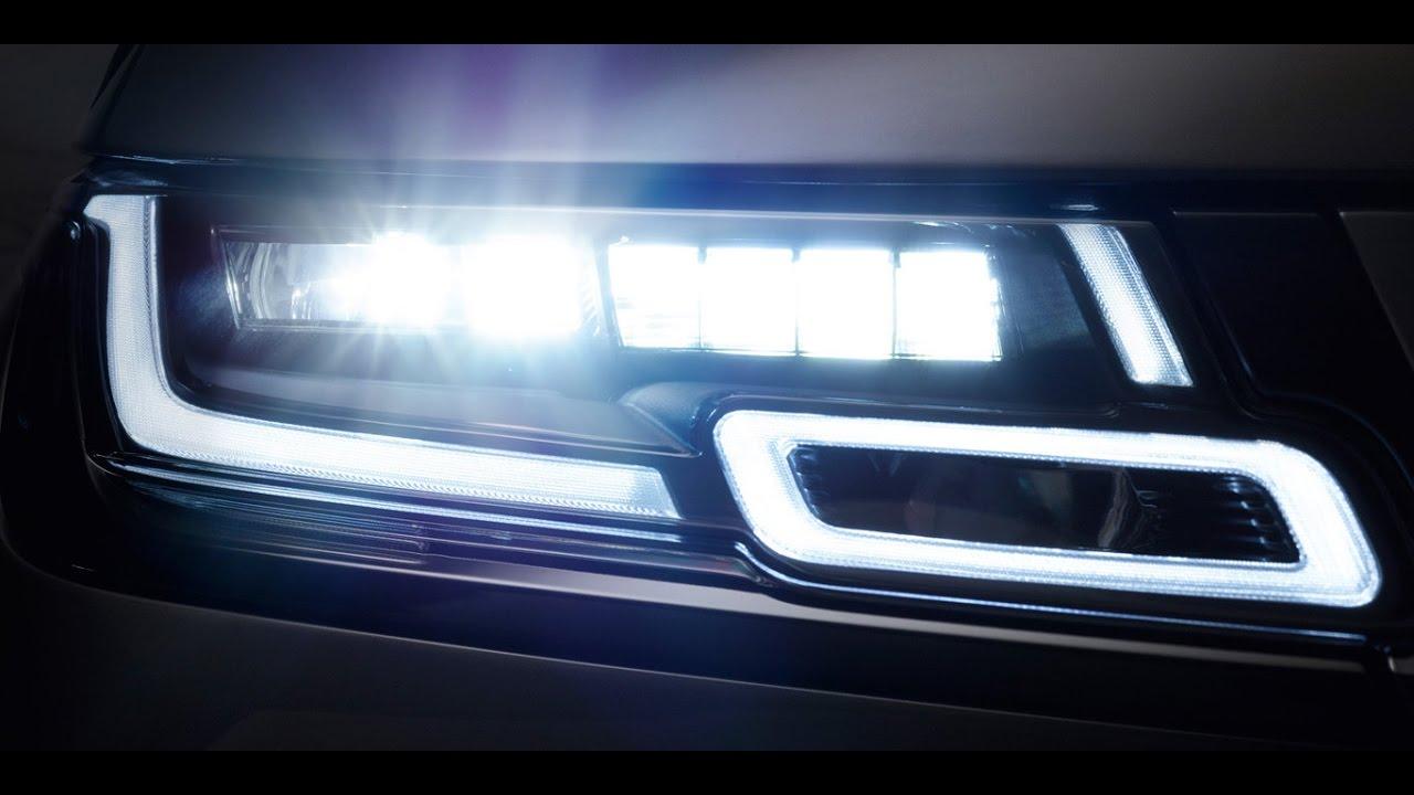Valeo Matrix LED en Range Rover Velar - iluminación del automóvil