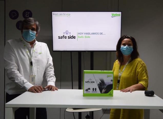 Valeo presentación detector de ángulo muerto Safe Side