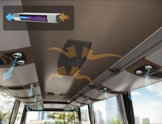 Con Valeo, máxima purificación del aire en autobuses y autocares