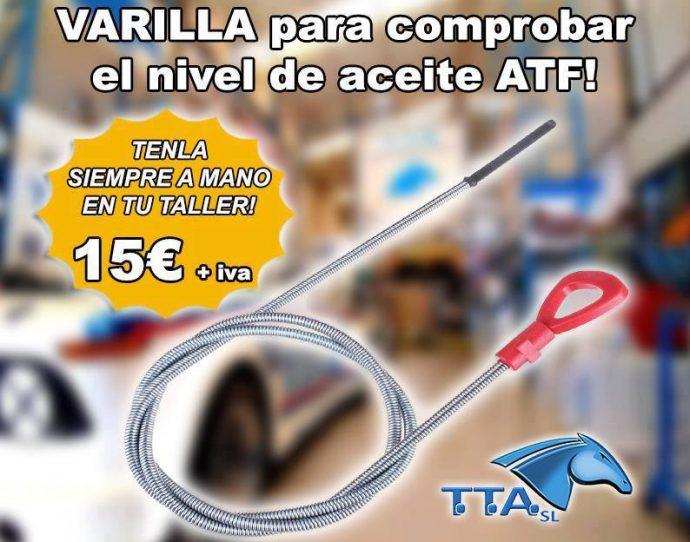 comprobar nivel aceite ATF
