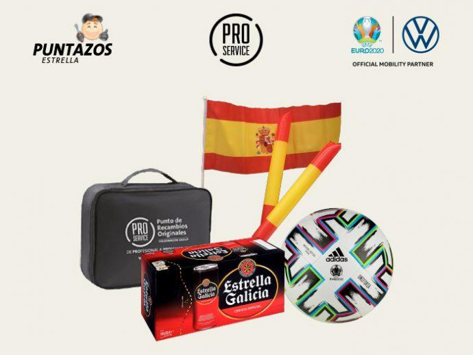 Vive la Selección Española de Fútbol con la campaña Euro 2020 de PRO Service