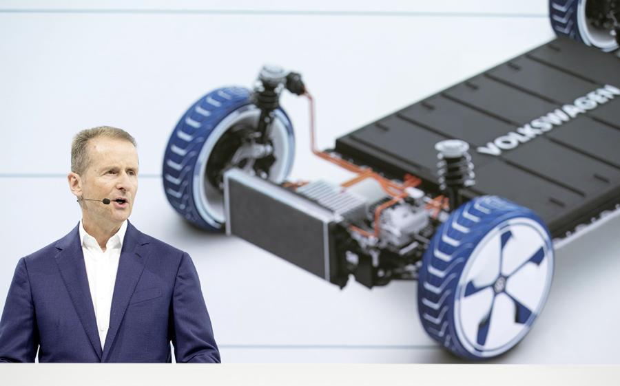 Volkswagen producción vehículos eléctricos
