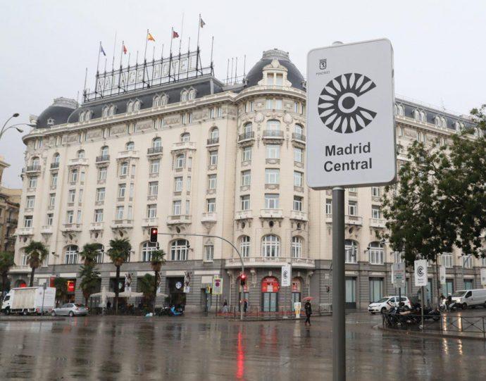 vuelven las multas en la almendra central de Madrid