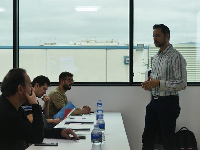 Xavi Bosch presentación programa de gestión de talleres CAR