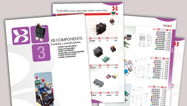 XB Components actualiza catálogo fusibles portafusibles