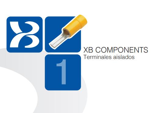 XB Components actualización 2020 catálogo terminales aislados