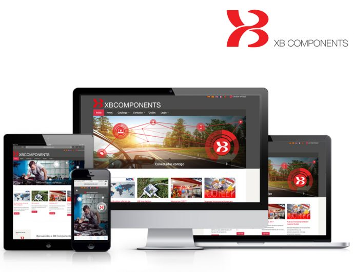 XB Components estrena nueva página web