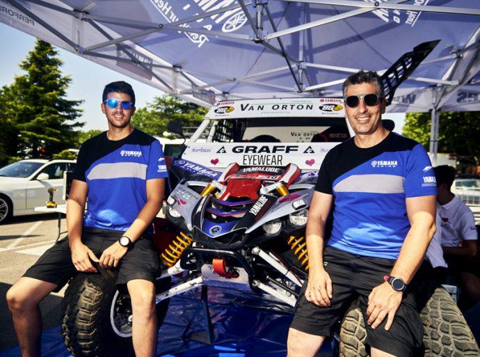 Yago de Prado y Álvaro Moya equipo buggy Yamaha YXZ1000R